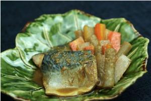 山椒のさば味噌煮